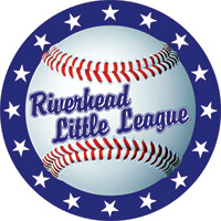 Riverhead little league logo baseball